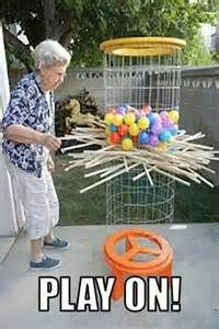 Life-size Kerplunk game (with instructions). I love lawn games! - Mahlen und spiele - Life-size Kerplunk game (with instructions). I love lawn games! What is better than - Fun Games, Games For Kids, Activities For Kids, Crafts For Kids, Diy Crafts, Family Games, Group Games, Awesome Games, Kids Diy