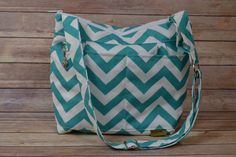 Camera Bag DSLR Teal Made in USA by Darby Mack by DarbyMack