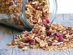 the best granola ever and it happens to be gluten-free and vegan!