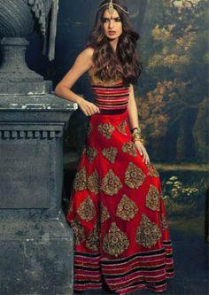www.mytrousseau.co.uk designer indian bridal lehenga