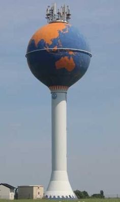 World Globe - water tower