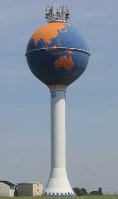 World Globe - water tower