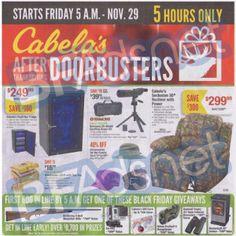 *HOT* Cabelas Black Friday Ad 2013