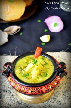 POORI MASALA RECIPE Pressure Cook Potatoes, How To Cook Potatoes, Pressure Cooking, Aloo Recipes, Curry Recipes, Potato Recipes, South Indian Vegetarian Recipes, Easy Indian Recipes, Ethnic Recipes