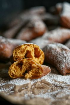 Pumpkin Fry Bread (or Fried Pumpkin Bread) | www.girlichef.com