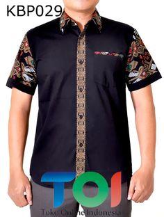 batik printing bahan katun African Shirts For Men, African Dresses Men, African Clothing For Men, Latest African Fashion Dresses, African Men Fashion, African Attire, African Wear, Costume Africain, African Print Shirt