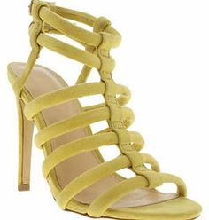Schuh womens schuh yellow secret identity high heels Secret Identity is the perfect heel to make any outfit pop with colour. This caged silhouette from schuh places yellow suede straps on a 12cm stiletto heel. The only other accessory you need is an env http://www.comparestoreprices.co.uk/womens-shoes/schuh-womens-schuh-yellow-secret-identity-high-heels.asp