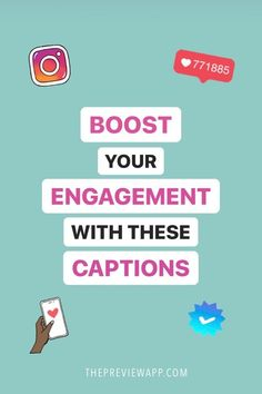 Use these captions to boost your engagement on Instagram. We've compiled a list of all our favorite Instagram caption ideas for personal Instagram accounts AND business Instagram accounts to help you grow. Get the caption template and caption questions at your fingertips. #instagramtips #instagrammarketing #instagramstrategy #captions #instagramcaptions #bloggertips #socialmediatips #socialmediastrategy Preview Instagram, Find Instagram, Instagram Caption, Instagram Marketing Tips, Instagram Accounts, Instagram Feed Planner, Trending Hashtags, Gain Followers, Business Look