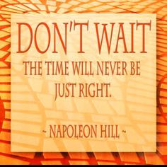 """Napoleon Hill - Reading his book, """"Think and Grow Rich"""" in High School. Way over my head at the time. But started me down the path of personal development."""