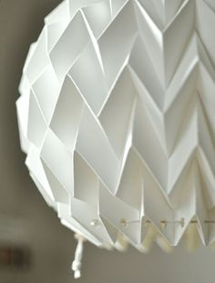 papierlampen origami stilvoll pendelleuchte weiß