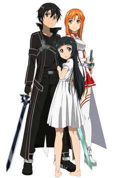 sword art online kirito and asuna - Google Search