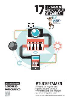 Cartel Concurso Fotográfico #tucertamen