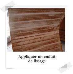 Finition meuble en carton enduit de rebouchage carton for Finition meuble en carton
