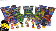 LEGO Dimensions Wave 9 set preview : Yet another different agency processing some of LEGO's promotions has sent over a box of stuff this time the as-yet unreleased final wave of Dimensions boxed sets. No word yet on the Lord Vortech release. Video - LEGO Dimensions in-hand preview: Teen Titans GO! Powerpuff Girls & Beetlejuice