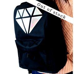 Σακίδιο Metallic Diamond - Δωρεάν αποστολές BLUSHGREECE Backpacks, Diamond, Metal, Bags, Fashion, Handbags, Moda, Fashion Styles, Backpack