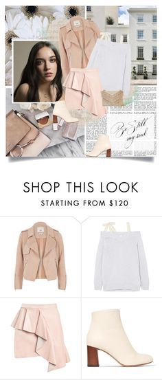 """Be Still my Soul"" by retrocat1 ❤ liked on Polyvore featuring Elizabeth Jane, KEEP ME, River Island, RED Valentino, Chloé and Cynthia Rowley"