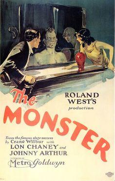 Lon Chaney & Johnny Arthur - The Monster....1925