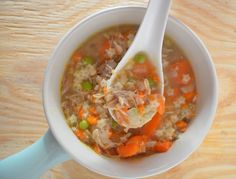 Summer Chicken Soup - Mooshu Jenne