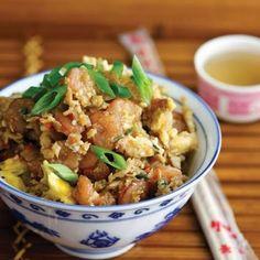 Low Carb Shrimp Mock Fried Rice