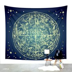 Zodiac Signs. Wall Tapestry. Wall Hanging Tapestry. Star Gazing. Astronomy. Astrology. Wall Decor. Taurus. Gemini. Cancer. Leo. Virgo. Libra by FromFloraWithLove on Etsy https://www.etsy.com/listing/252583143/zodiac-signs-wall-tapestry-wall-hanging