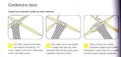 i-cord : il tubolare a ferri e uncinetto