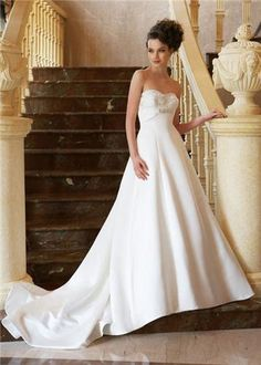 Jasmine Collection Style F270 Color: Ivory Size 6