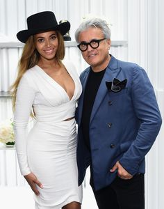 Beyonce Knowles and Giuseppe Zanotti @ Giuseppe Zanotti Design Beverly Hills Store Re-Opening on April 14, 2015