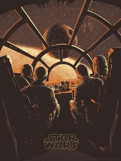 Star Wars Original Trilogy Poster Series - Created by Juan Esteban RodriguezYou can follow the artist on Tumblr.