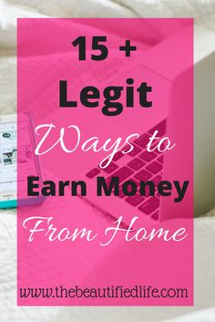 15 + ways to make money from home. Working from home is very popular these days. Find out a ton of ways you can earn money at home