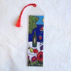 Signet • Vin et fruits - reproductions des toiles d'isabelle Malo