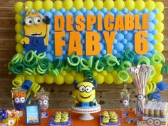 Minions Birthday Party Ideas | Photo 5 of 39 | Catch My Party