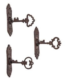 Take a look at this Key Wall Hook Set by Designs Combined Inc. on #zulily today! $15 !!