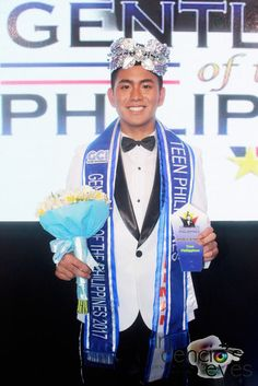 Mister Teen International Philippines 2016 Mark Joshua Marquez. He will compete in Mister Teen International 2017 in Indonesia.