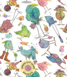 Birds by Jennifer Geldard