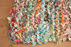 love this...would love to do this with some old fabrics...