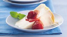 Italian Cream Pie with Strawberry Sauce - Pillsbury Bake Off 2006