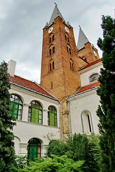 Medieval abbey church and monastery of Türje, Hungary Baroque Frame, Church Pictures, Heart Of Europe, Baroque Architecture, Cathedral Church, Old Churches, Christian Church, Central Europe, Romanesque