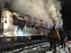 Feb 4, 2015 ALBERT CONTE/THE JOURNAL NEWS/LOHUD.COM A Metro-North train on the railroad's Harlem line crashed into a vehicle on the tracks in Valhalla, N.Y., on Tuesday evening.