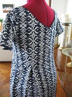 Elisalex dress. Back view.