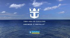 """Hello, this is the Sea calling!"" :) Love Royal Caribbean<3"
