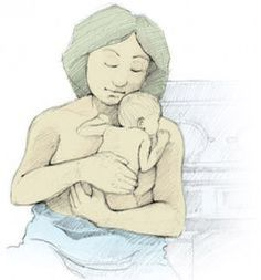 Kangaroo care to baby, how to give, what are benefits