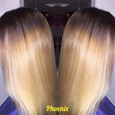 Colour melt with lightened ends