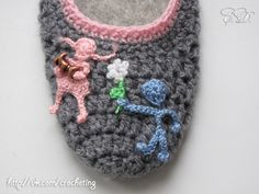 #crochet_slippers by Elena Daniliuk (Odessa, Ukraine)  official page - www.vk.com/crocheting
