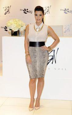 Kim Kardashian launch of Belle Noel Jewelry Line