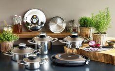 El surtido Esmeralda - un verdadero placer y la composición favorita de nuestros clientes. Está personalizada para una familia de tamaño medio, con uno o dos hijos. Este surtido te permite cocinar de manera diaria así como para eventos especiales en pequeños círculos.