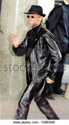 Capital-Awards-Maurice looking HOT in all leather!!!