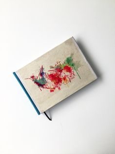 Pajaritos - Cuaderno Bookbinding, Decor, Creative Products, Creativity, Little Birds, Decoration, Decorating, Book Binding, Deco