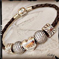 Leather Braid Strands Bracelet Suede Rope Bracelet Pandora Bijoux et charms à retrouver sur www.bijoux-et-charms.fr