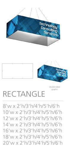 3D HANGING STRUCTURE - RECTANGLE #Trade#show #Displays #Hanging #Structure. Call us today for a quote. 1-866-7ULTIMA (1-866-785-8462) Trade Show, Quote, Messages, 3d, Projects, Quotation, Log Projects, Qoutes