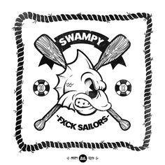 SWAMPY-CREEPY † SQUAD by Gabo Romero, via Behance